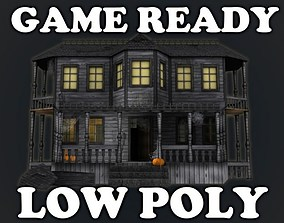 3D asset Haunted Halloween House