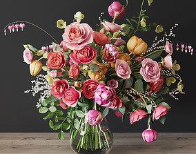 bouquet Bouquet of roses 3D model