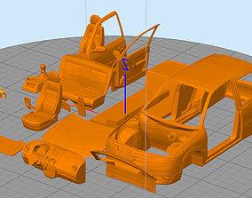 3D printable model volkswagen gol power