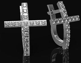3D printable model Gold women earrings
