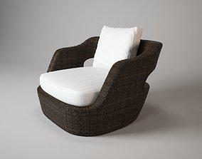Unopiu eden armchair 3D