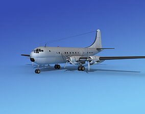 Boeing 377 Bare Metal 3D