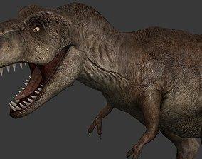 3D asset realtime Tyrannosaurus Rex