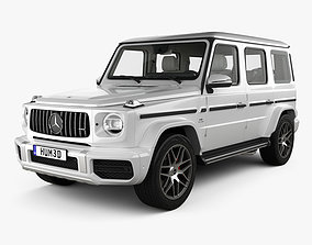 Mercedes-Benz G-class W463 AMG with HQ interior 3D model