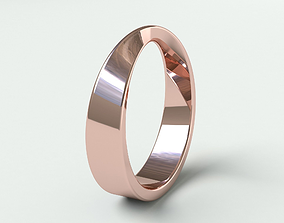 Ringmodel103 - Wedding ring - Mobius ring precious