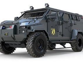 3D model Pit-Bull VX SWAT Truck