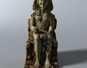 Egyptian Statue 3D model