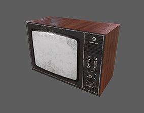 TV - Television - Retro TV - Soviet 3D model