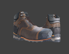 3D model Boots Lowpoly