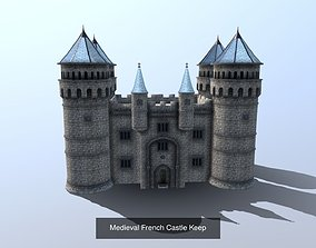 3D model Modular French Castle Collection