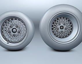 BBS Tyres LeMans Porsche with Brakes 3D
