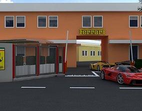 Ferrari Factory Maranello 3D VR / AR ready