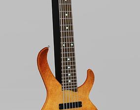 Bass Guitar 3D asset