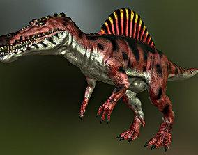 3D model Spinosaurus spinosaurus