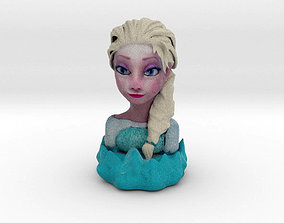 3D print model Frozen Elsa Bust