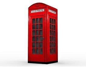 British Phone Booth 3D model