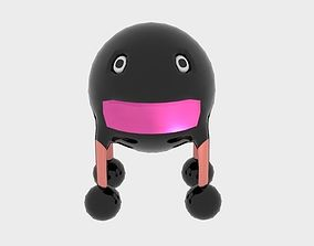 3D model Sphere Steel Monster