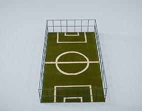 3D model Mini Football Court
