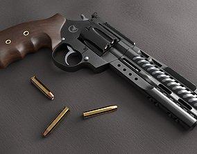 3D model Korth NXR 44 Magnum Revolver