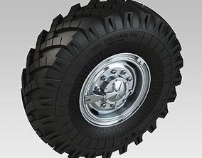 3D Wheel URAL Tire OI25AM Rim 515-254