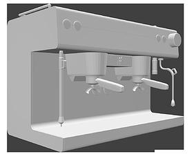 3D asset Coffee Machine