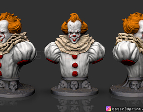 IT chapter Two Bust 3D print model