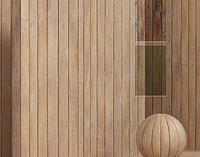 3D Wood planks material - seamless