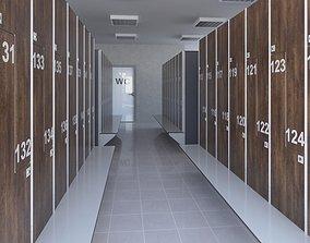 3D Locker Room 8 university