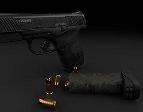 Mossberg MC1 sc - Subcompact 9mm Pistol 3D asset