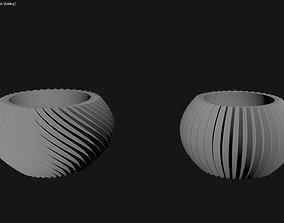 3D Printed Planter Plant Pot Plant Vase 114