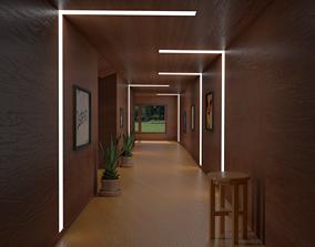 3D model furniture Corridor