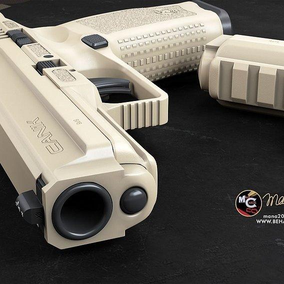 3d weapon visualization