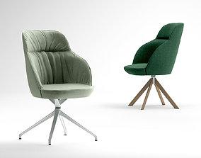 Jardan Mina Executive chair 3D model
