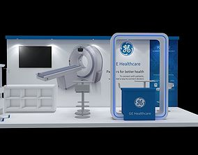 Booth 3x6 and 3x3 3D model