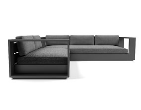 Harbour Outdoor - Hayman Sofa L-Shaped 3D