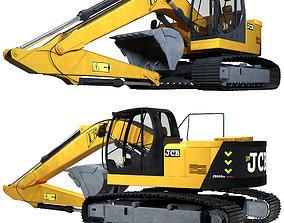 JCB Excavator 3D