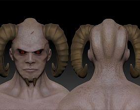 High Poly Demon 3D