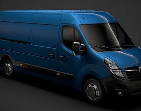 3D Opel Movano L3H2 Van 2020