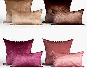 3D Decorative pillows set 038