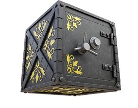 3D model Decorative safe