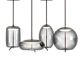 3D model Brokis Knot Pendant Lamps