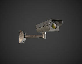 Security Camera 3D model low-poly