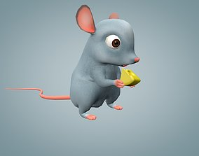 3D model animated Mouse