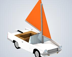 James Mays amphibious car Top Gear 3D print model