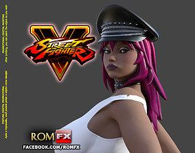 Poison - Street Fighter Character Printable bondage