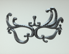 3D printable model Carnival Mask - Tentacles