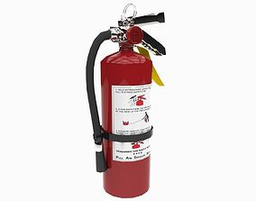 3D asset realtime Fire Extinguisher extinguishers