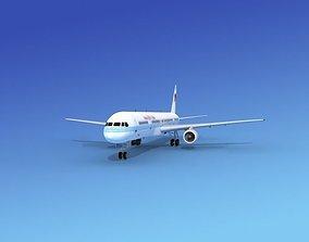 Boeing 757-300 America West 2 3D