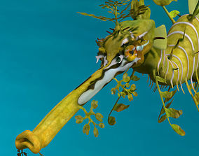 Leafy sea dragon 3D model