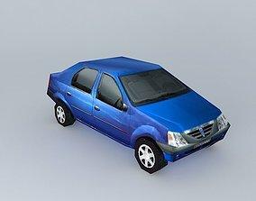 3D Dacia Logan